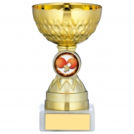 Gold Cup Trophy 4.75 inches 12cm : New 2020