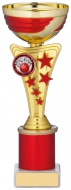 Gold And Red Cup Trophy 8.25 inches 21cm : New 2020