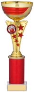 Gold And Red Cup Trophy 9.75 inches 25cm : New 2020