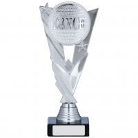 Silver/Red Trophy 8.25 inches 21cm : New 2020
