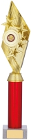 Gold And Red Holder Trophy 16.75 inches 42.5cm : New 2020