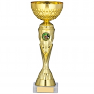 Gold Cup Trophy 10.75 inches 27cm : New 2020