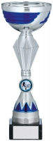 Silver And Blue Trophy 10.25 inches 26cm : New 2020