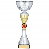 Silver And Gold Trophy 9.5 inches 24cm : New 2020