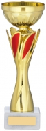 Gold And Red Cup Trophy 9 inches 23cm : New 2020