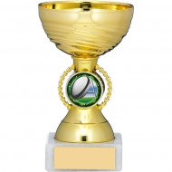 Gold Cup Trophy 4.75 inches 11.5cm : New 2020