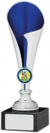 Silver Blue Trophy 8.25 inches 21cm : New 2020