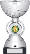 Silver Cup Trophy 6.75 inches 17cm : New 2020