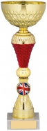 Gold/Red Trophy 10.25 inches 26cm : New 2020