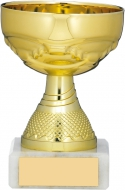 Gold Cup Trophy 3.5 inches 9cm : New 2020