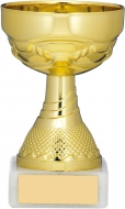 Gold Cup Trophy 4.25 inches 11cm : New 2020