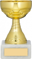 Gold Cup Trophy 5.25 inches 13.5cm : New 2020