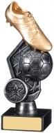 Football Boot Ball Trophy 16cm : New 2019