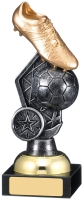 Football Boot Ball Trophy 18cm : New 2019