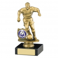 Male Football Trophy 6 inches 15cm : New 2020