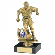 Male Football Trophy 6.75 inches 17cm : New 2020