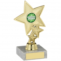 Star Trophy Holder 6 inches 15cm : New 2020