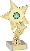 Star Trophy Holder 7 inches 18cm : New 2020