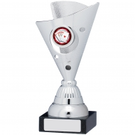 Silver Trophy 17cm : New 2019