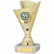 Gold Trophy 15cm : New 2019