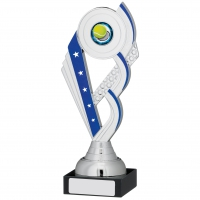 Silver And Blue Trophy 20.5cm : New 2019