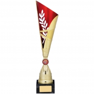Gold Red Trophy 38cm : New 2019