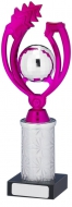 Pink Silver Trophy Award