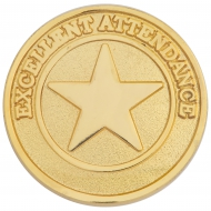 Attendance Round Badge Award