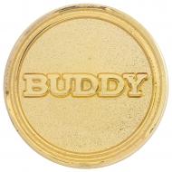 Buddy Round Badge Trophy Award