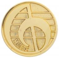 Music round badge Trophy Award