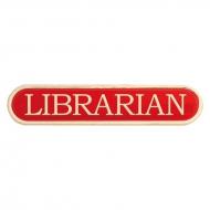 Librarian Enamel Bar Badge Trophy Award