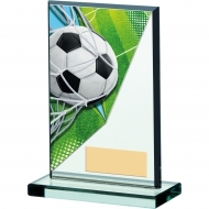 Football Acrylic Glass Award 5.25 inches 13cm : New 2020