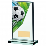 Football Acrylic Glass Award 6.75 inches 17cm : New 2020