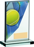 Tennis Acrylic Glass Award 5.25 inches 13cm : New 2020