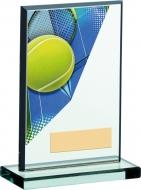 Tennis Acrylic Glass Award 6 inches 15cm : New 2020