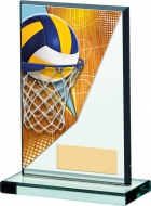 Netball Acrylic Plaque 5.25 inches 13cm : New 2020