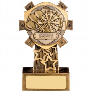 Mini Shield Darts Trophy Award
