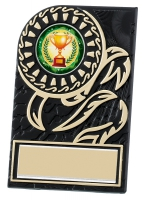 Rosette plaque 3.5 inches Trophy Award