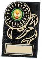 Rosette plaque 4.25 inches Trophy Award