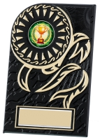 Rosette plaque 4.75 inches Trophy Award