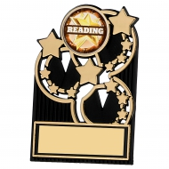 Black And Gold Acrylic Plaque 3.5 inches 9cm : New 2020