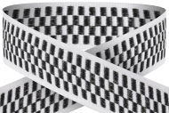 Chequered 22mm wide ribbon Trophy Award