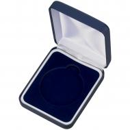 Blue Padded Medal Box Trophy Award