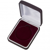 Maroon Padded Medal Box Trophy Award