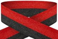 Black red 22mm wide ribbon Trophy Award