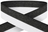 Black white 22mm wide ribbon Trophy Award