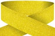 Glitter gold 22mm wide ribbon Trophy Award