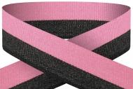 Pink black 22mm wide ribbon Trophy Award