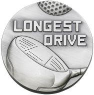 Longest Drive Medal Trophy Award