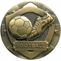 Football Mini Shield Medal Trophy Award